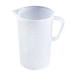 Alat Laboratorium Air Polypropylene Graduated Beaker With Handle 5000 Ml