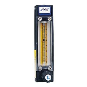 Alat Laboratorium Umum Cole Parmer 65Mm Correlated Flowmeter W Valve Aluminum 48.7 Ml Min Air