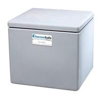 Alat Laboratorium Umum Thermosafe 304 Dry Ice Storage Chest Tabletop Polyethylene 50 Lb Capacity 1
