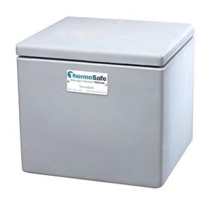 Alat Laboratorium Umum Thermosafe 304 Dry Ice Storage Chest Tabletop Polyethylene 50 Lb Capacity