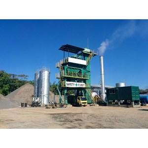 Mesin Aspal Asphalt Mixing Plant Merk Nikko Seri Cbd 100