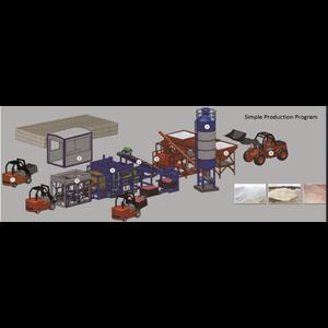 Mesin Cetak Bata Leton  T10-50