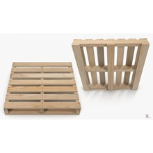 Pallet Kayu Dua Arah - Wooden Pallet Two Way Entry Reversible