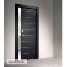 Pintu Semi panel kaca engineering