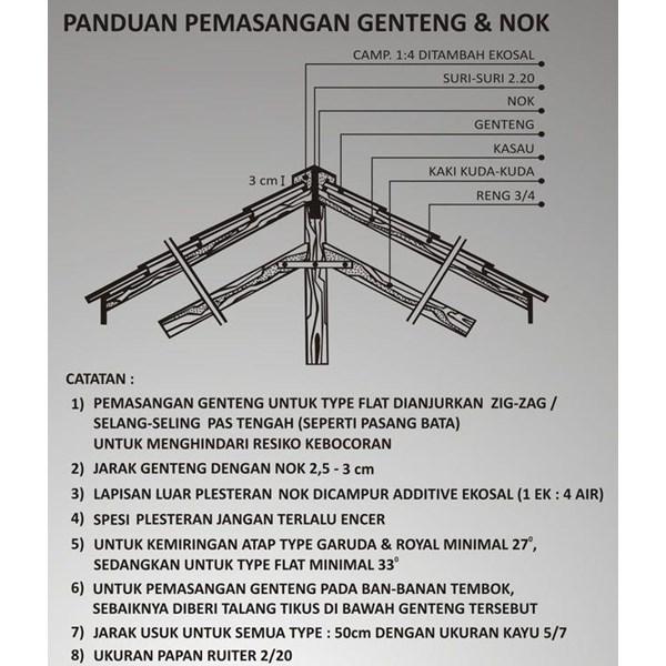 Genteng Beton Mutiara