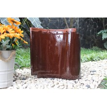 Genteng Keramik KIA CHOCO BROWN