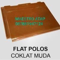 Genteng Beton Mutiara SNI Flat Polos