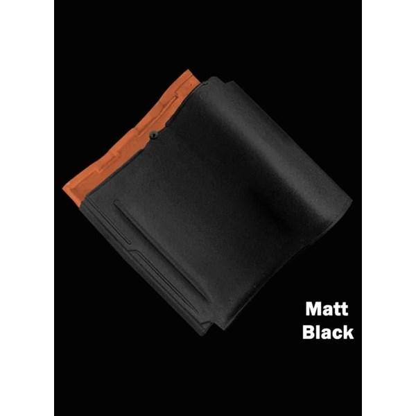 Genteng Keramik Mclass Matt Black Kw 1
