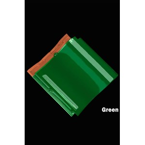 Genteng Keramik Mclass Green kw 1
