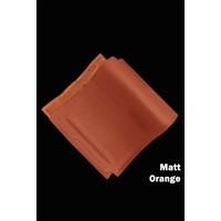Genteng Keramik Mclass Matt Orange