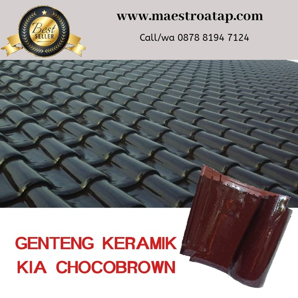 Genteng Keramik KIA Chocobrown