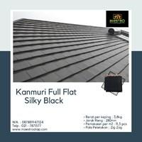 Genteng Kanmuri Full Flat Silky Black