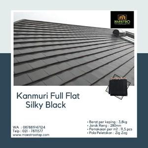 Dari Genteng Kanmuri Full Flat Silky Black 0