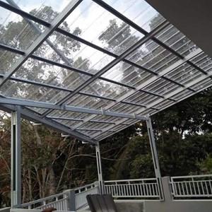 canopy Atap Transparan