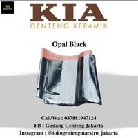 TILE CERAMIC KIA OPAL BLACK