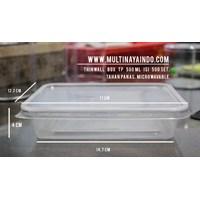 Kotak Makan / Thinwall / Box Plastik / Food Container Tahan Panas TP 500 mL