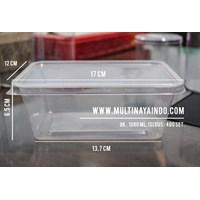 Kotak Makan / Thinwall / Box Plastik / Food Container  Plastik Tahan Panas TP 1000 mL