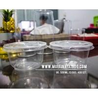 Mangkok Plastik / Thinwall  / Food Container  Ukuran 500 mL Tahan Panas