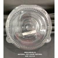 Plastik Box Mika Bulat 1