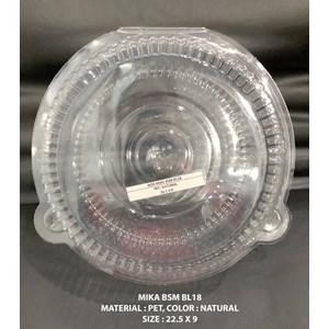 Plastik Box Mika Bulat