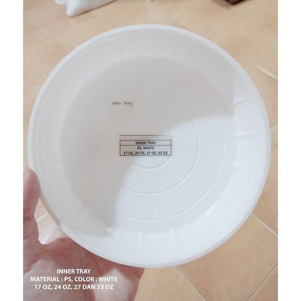 Plastic Inner Tray dan Tutup Lid