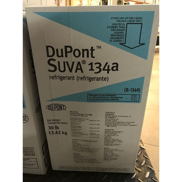 Freon Dupont Suva R134A (13.62 kg )