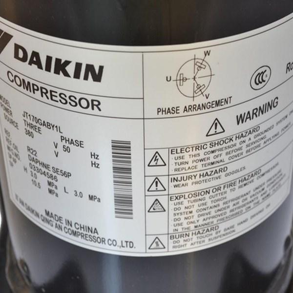 Compressor Daikin JT170GABY1L Model Scroll