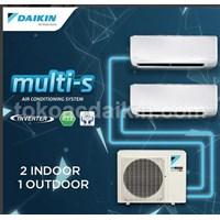 AC Multi S/2MKC 30 QVM4 1/2PK + 1/2PK Inverter (2 indoor)