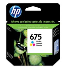 Toner Printer HP 675 Colour