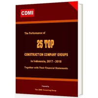 Jual The Performance Of 25 Top Construction Company Groups In Indonesia