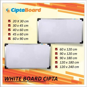 Whiteboard Cipta 40 X 60