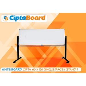 Whiteboard Single Face 60 X 120Cm