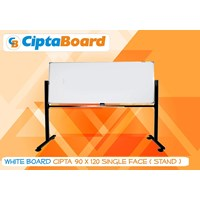 Whiteboard Single Face Cipta 90 X 120Cm 1