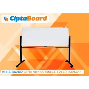 Whiteboard Single Face Cipta 90 X 120Cm