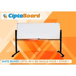 Whiteboard Single Face 90 X 180Cm