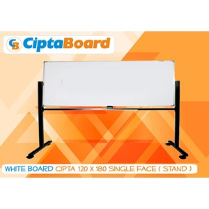 Whiteboard Single Face 120 X 180Cm