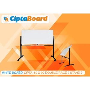 Whiteboard Double Face 60 X 90Cm