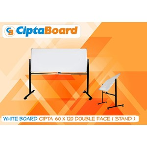 Whiteboard Double Face 60 X 120Cm