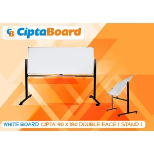 Whiteboard Double Face 90 X 180Cm