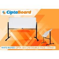 Whiteboard Double Face 120 X 240Cm 1