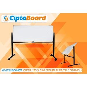 Whiteboard Double Face 120 X 240Cm