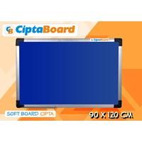 Softboard Bludru Cipta 90 X 120Cm 1