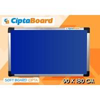 Jual Softboard Bludru Cipta 90 X 180Cm 2