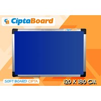 Jual Softboard Bludru Cipta 120 X 180Cm 2