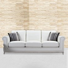 Sofa Yale white sofa bed WDL 0184