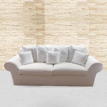 Sofa White Leo Sofa Bed