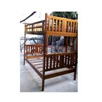 Distributor tempat tidur minimalis bed kayu 3