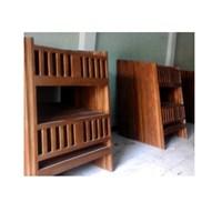 Jual tempat tidur minimalis bed kayu 2