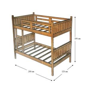 tempat tidur minimalis bed kayu