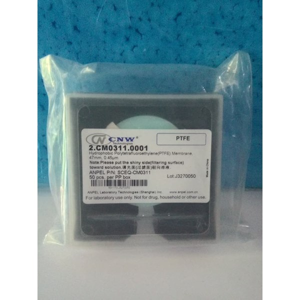 PTFE Hydrophobic Membrane 47mm 0.45um
